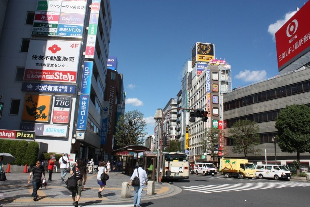 休日は吉祥寺で遊びつくそう!歩いても移動できる距離です。
